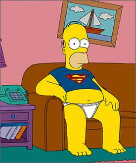 homer-simpson-superman