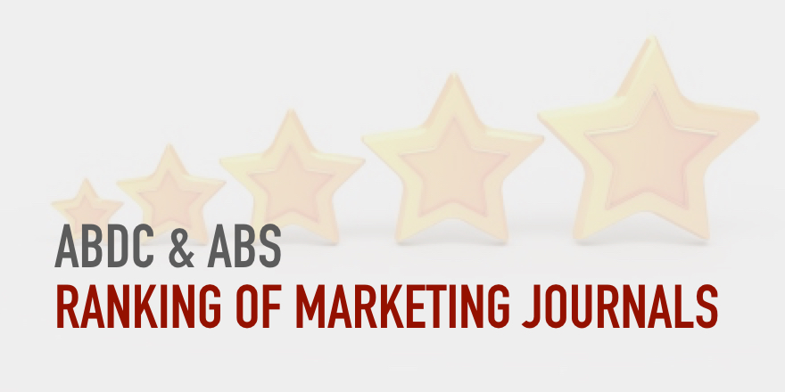 ABDC And ABS Journal Rankings Stephan Dahl